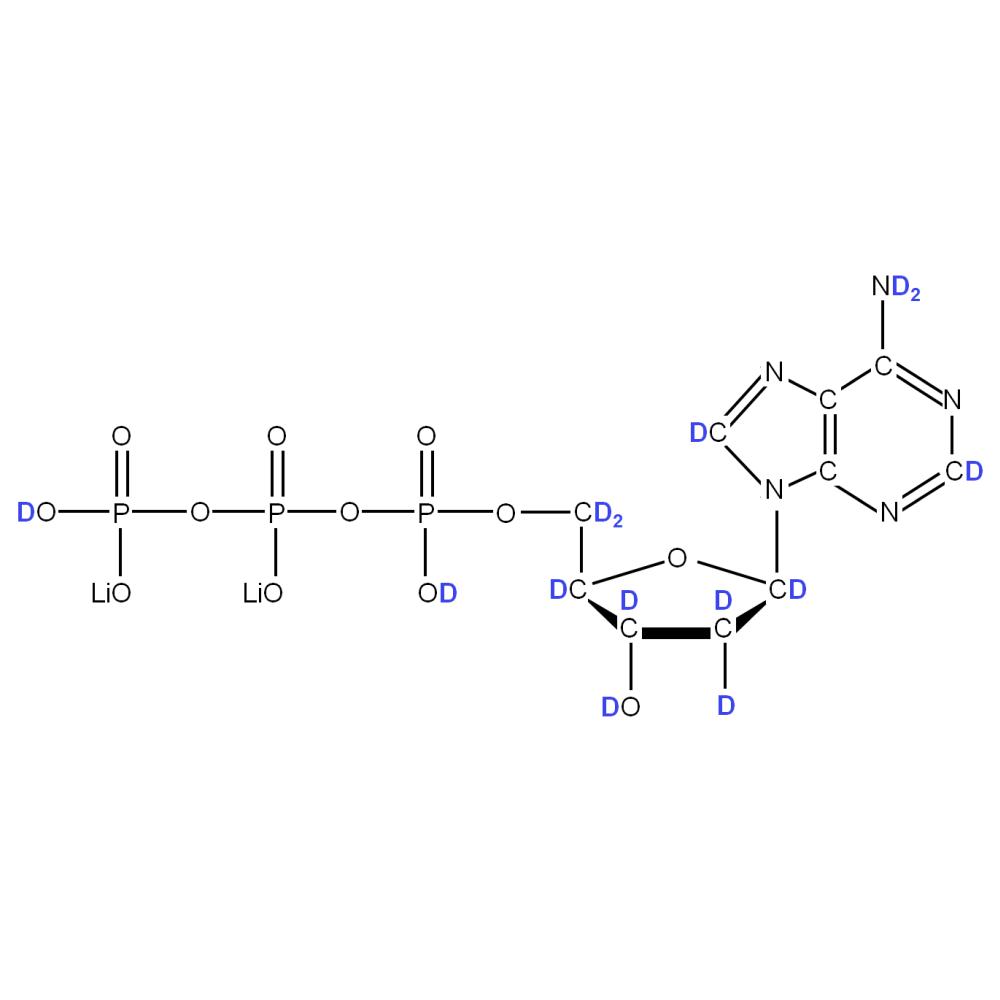 2H-labelled dATP