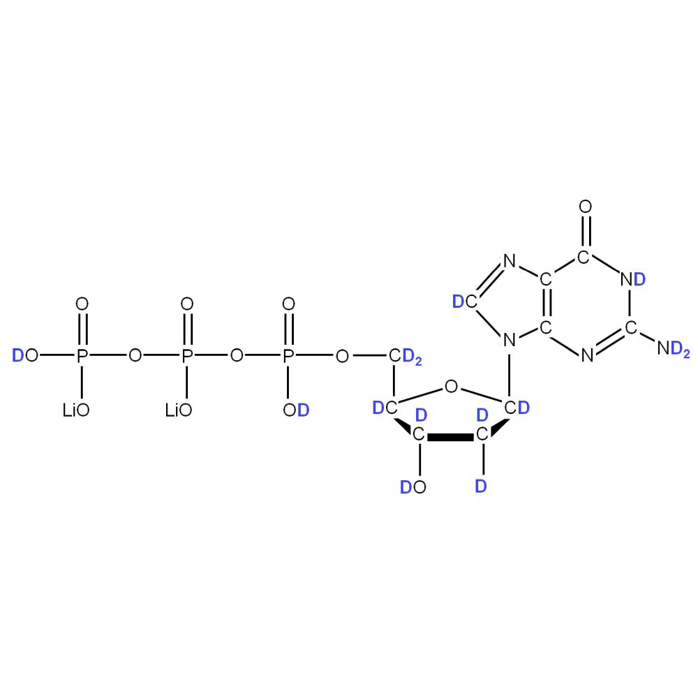 2H-labelled dGTP