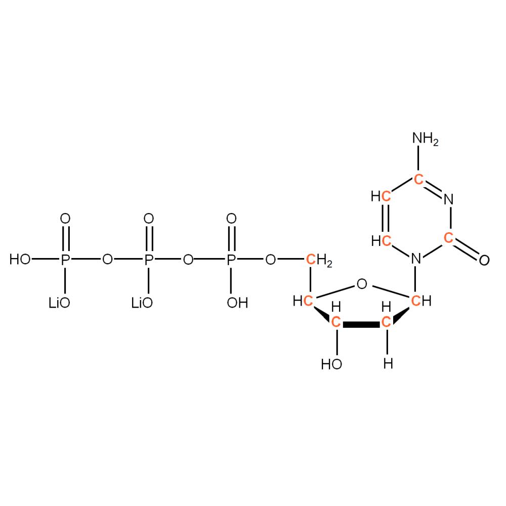 13C-labelled dCTP