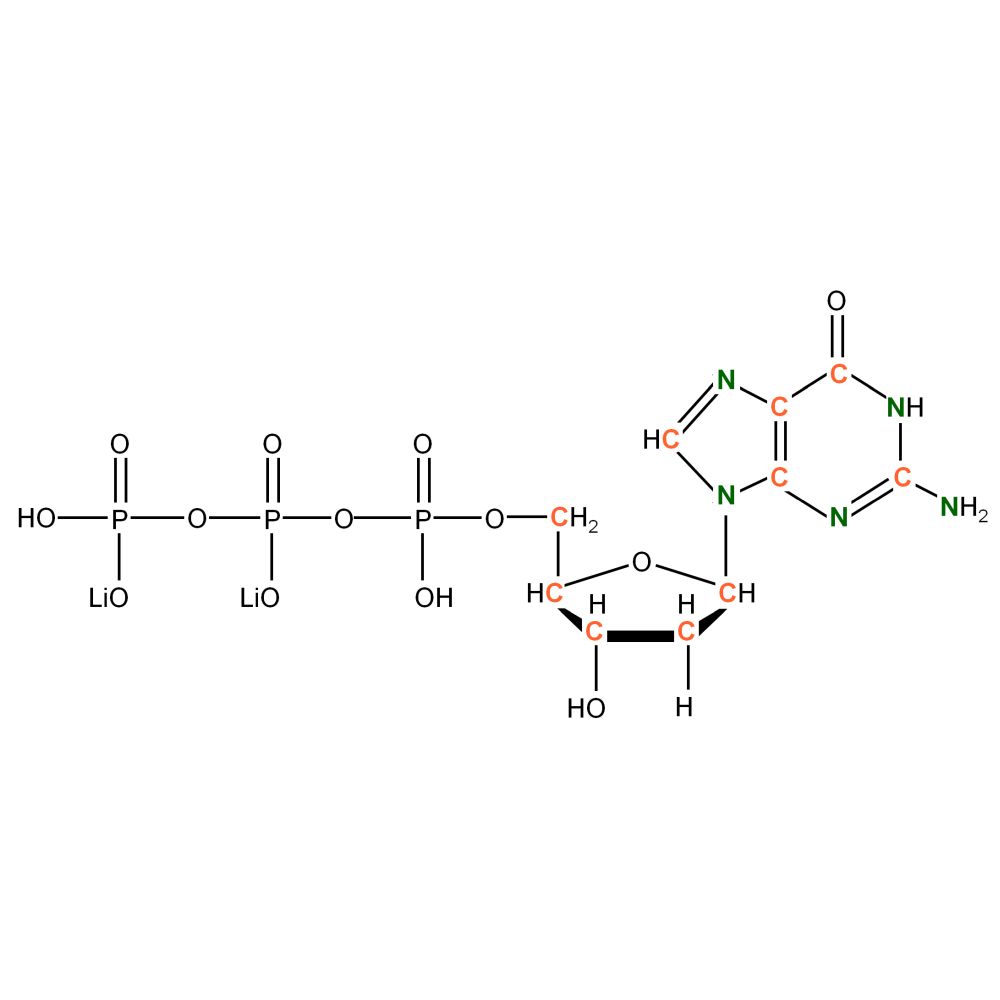 13C15N-labelled dGTP