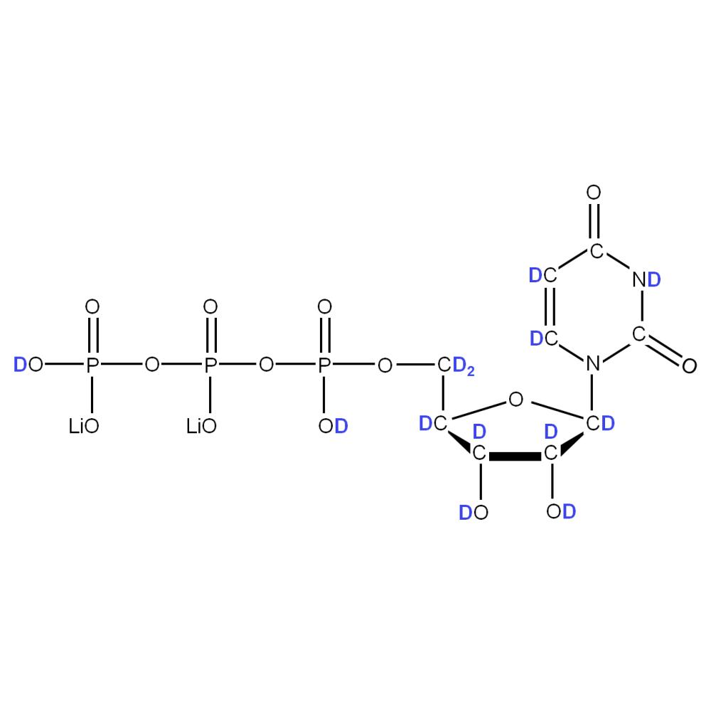 2H-labelled rUTP