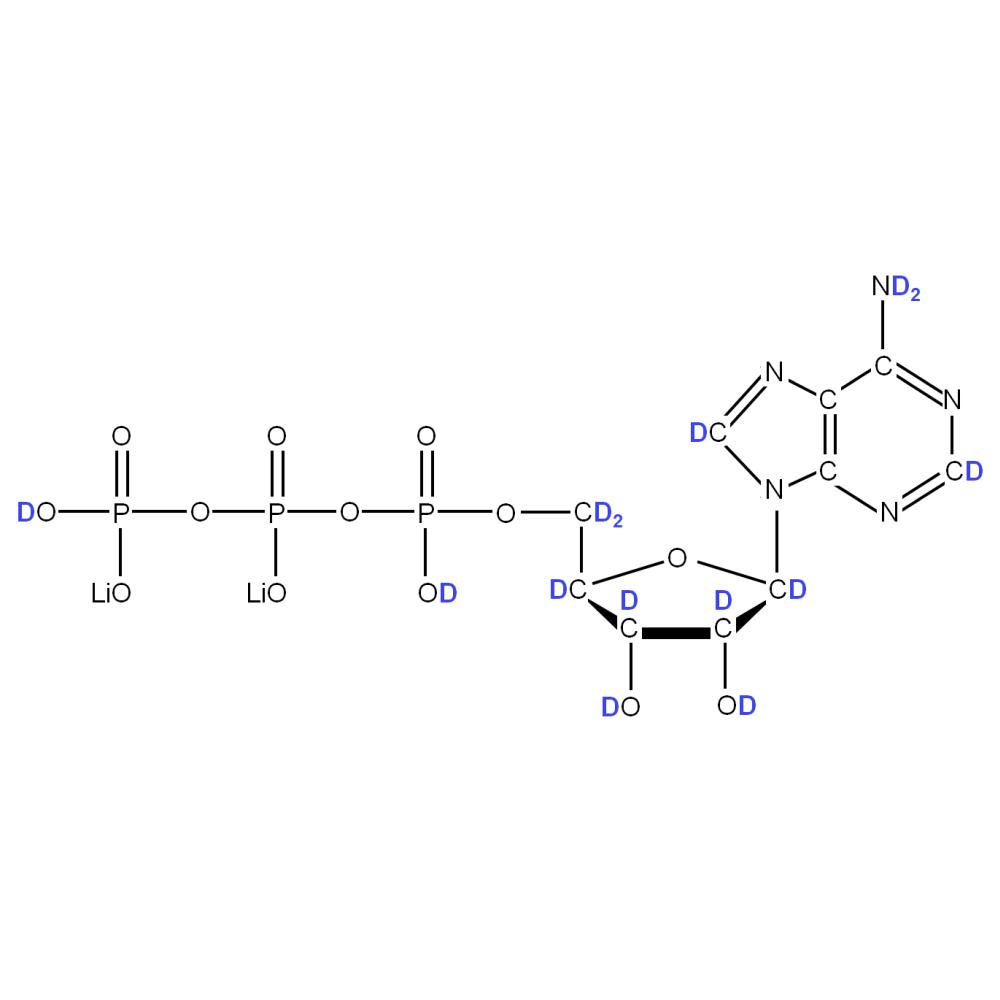 2H-labelled rATP