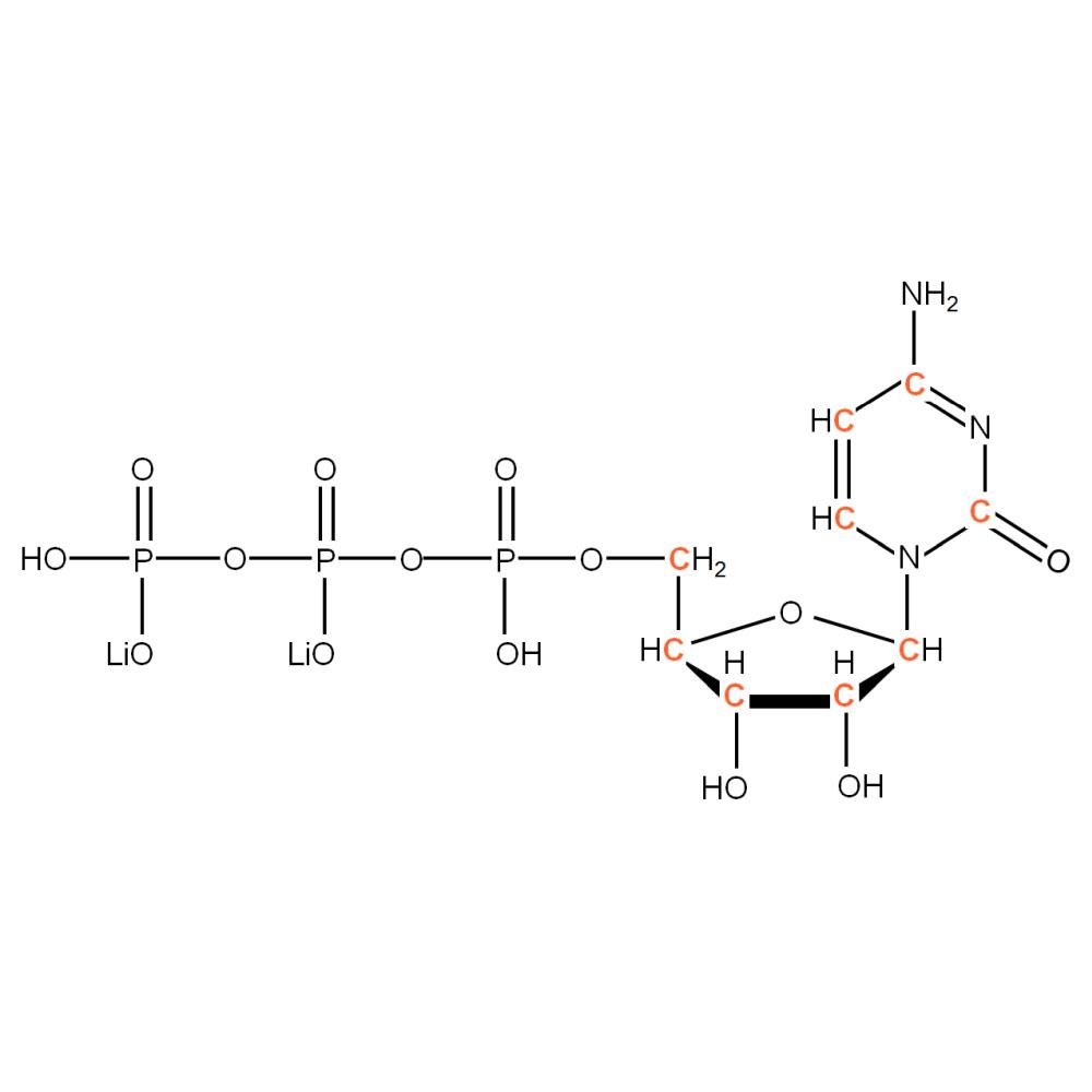 13C-labelled rCTP