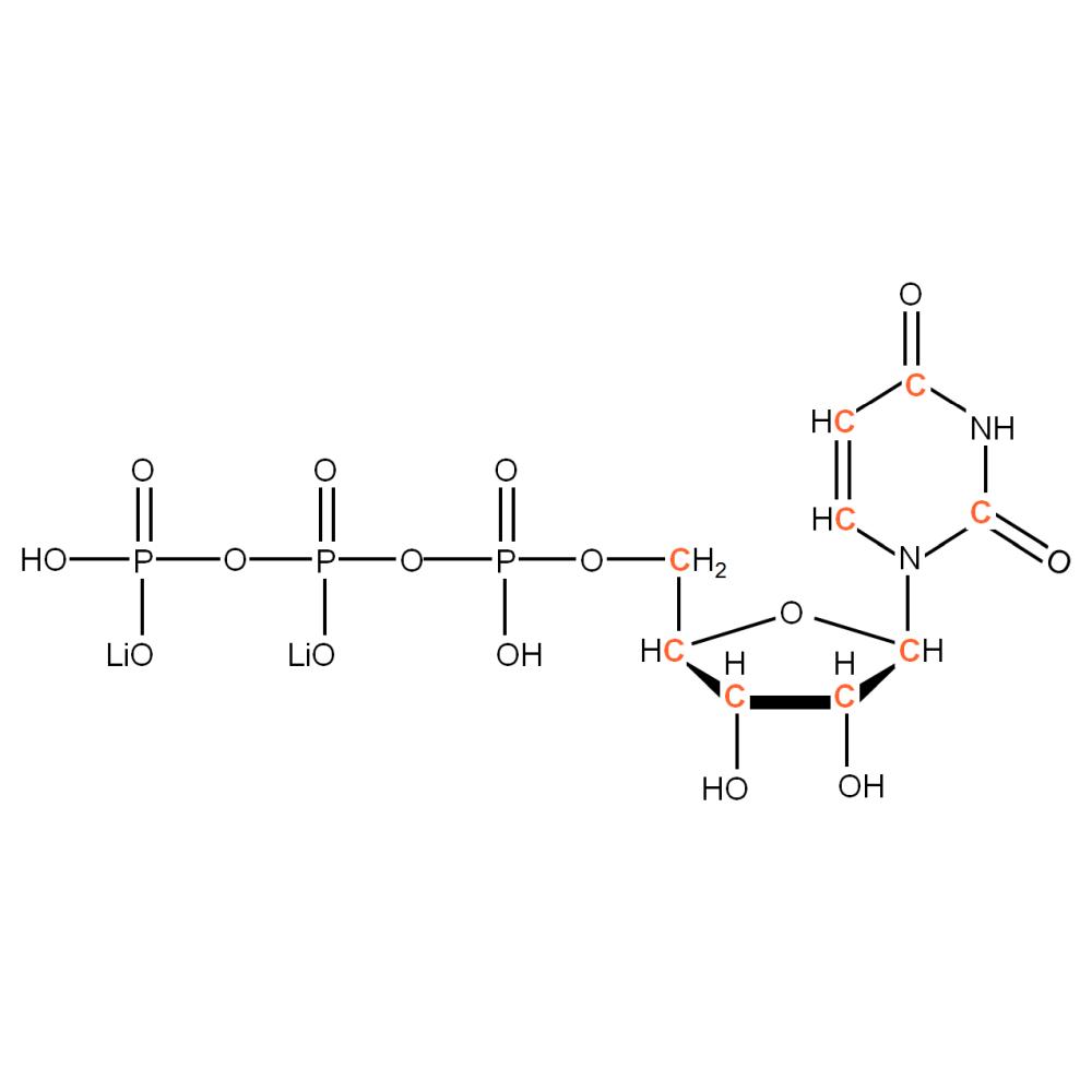 13C-labelled rUTP
