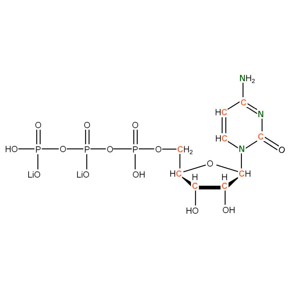 13C15N-labelled rCTP