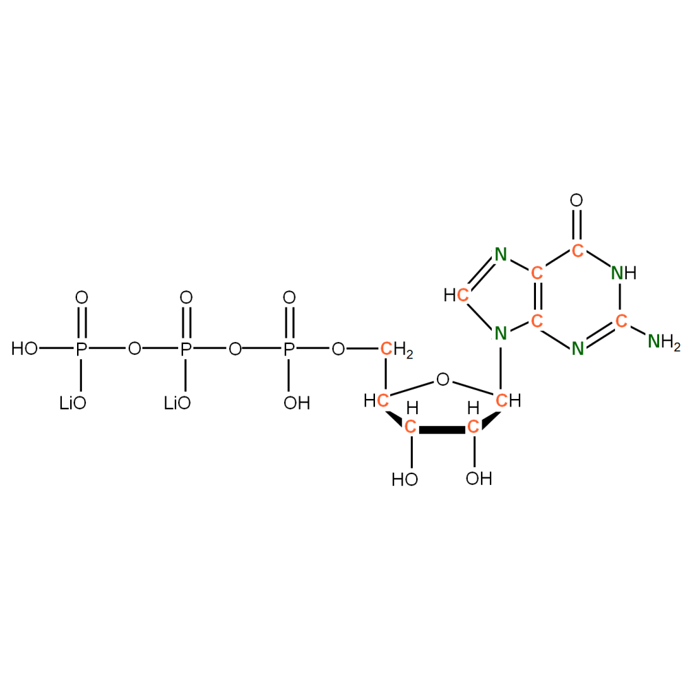 13C15N-labelled rGTP