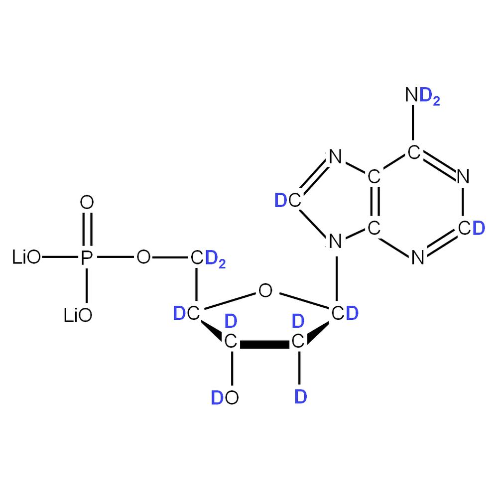 2H-labelled dAMP