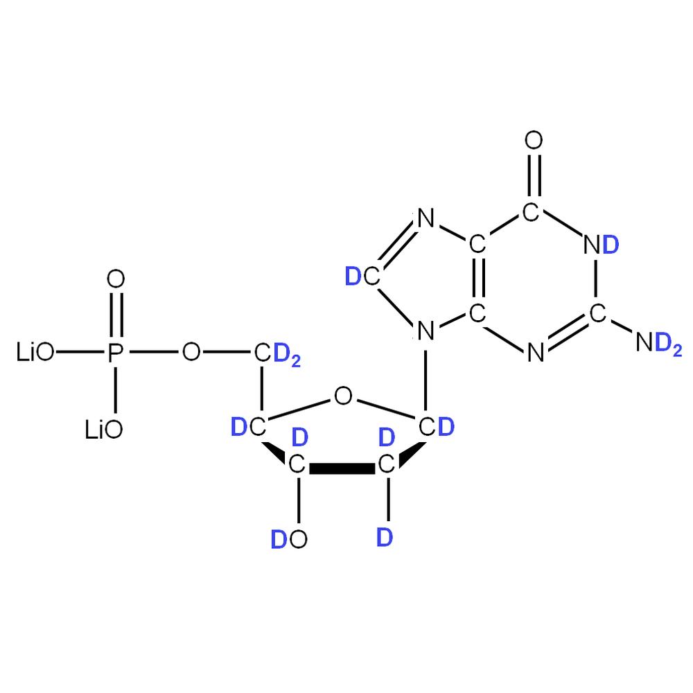 2H-labelled dGMP