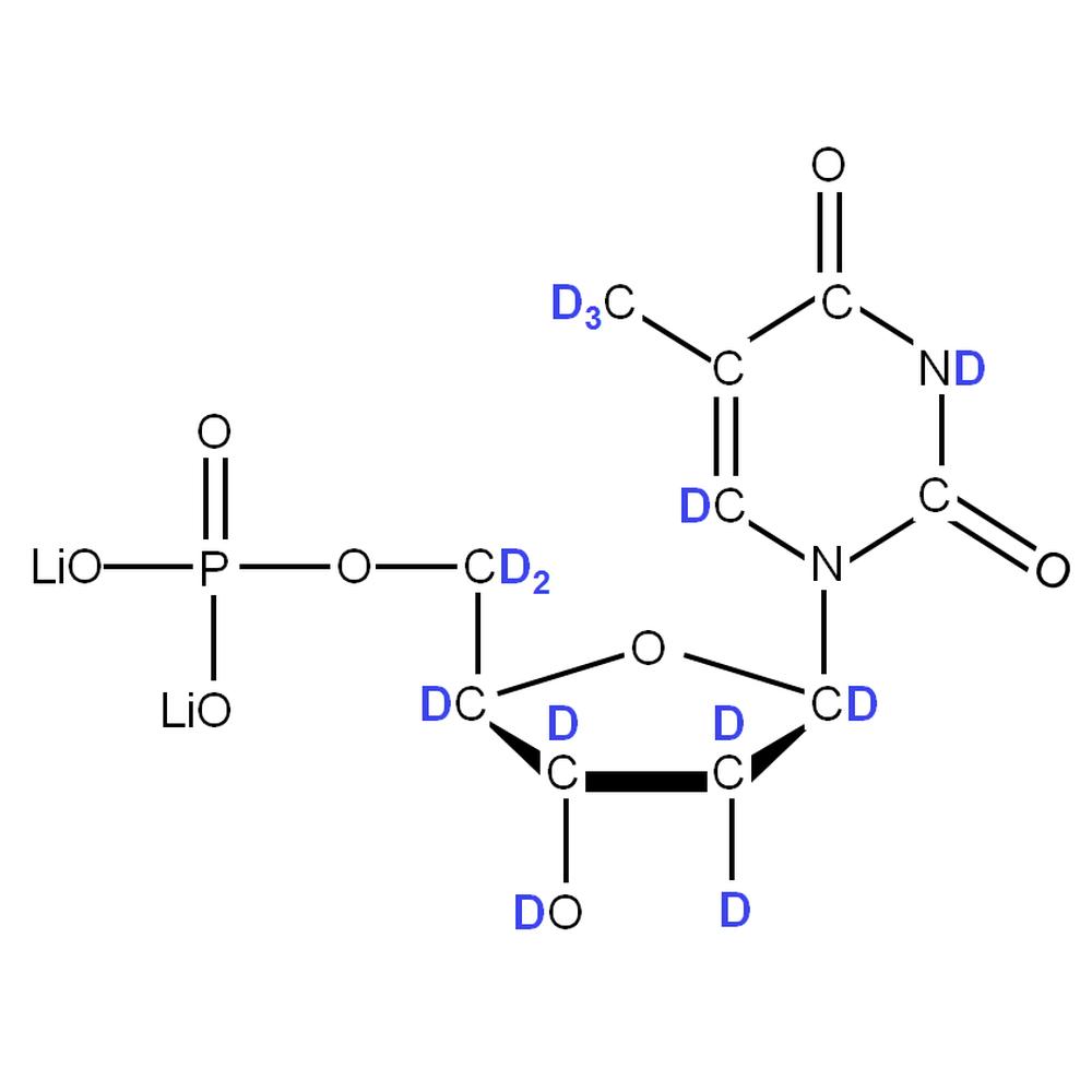 2H-labelled dTMP