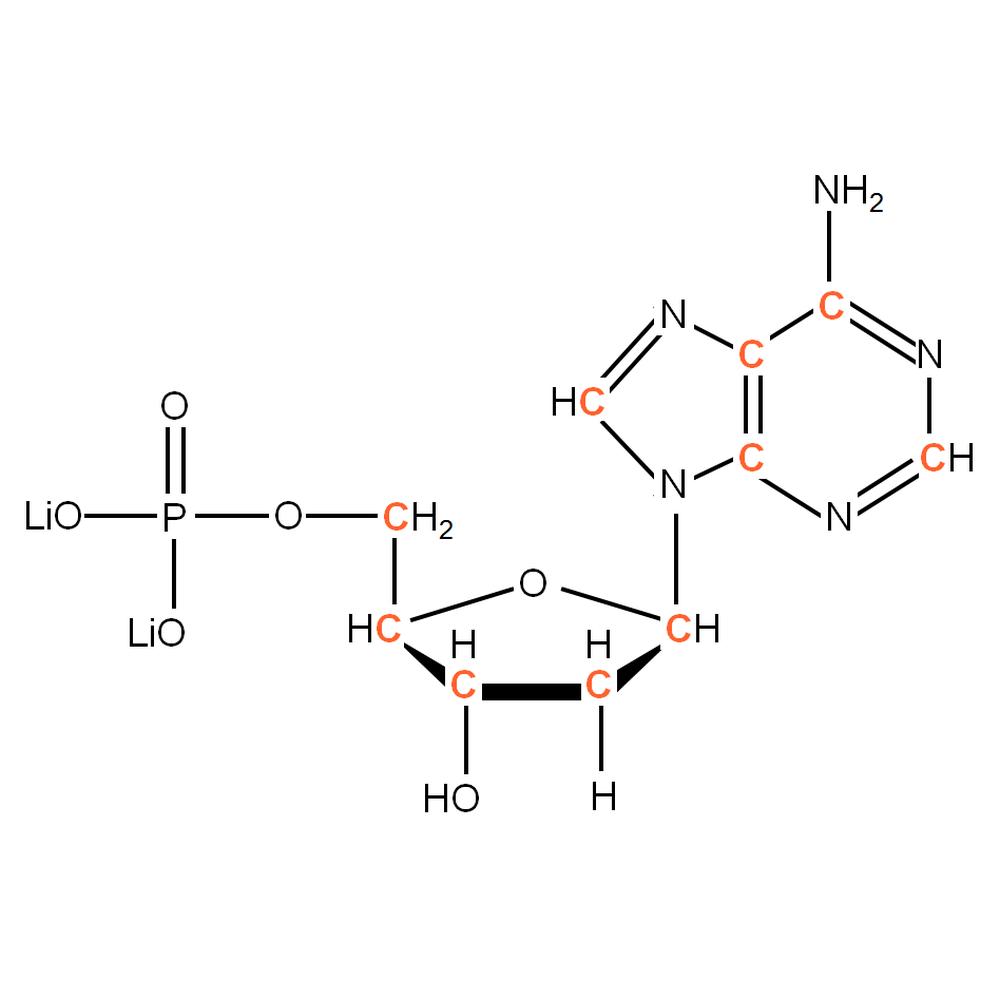 13C-labelled dAMP