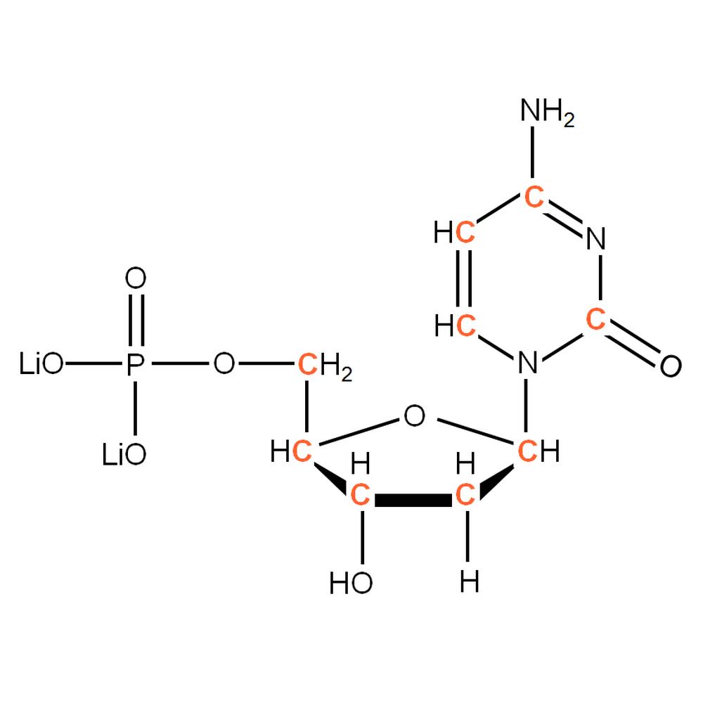 13C-labelled dCMP