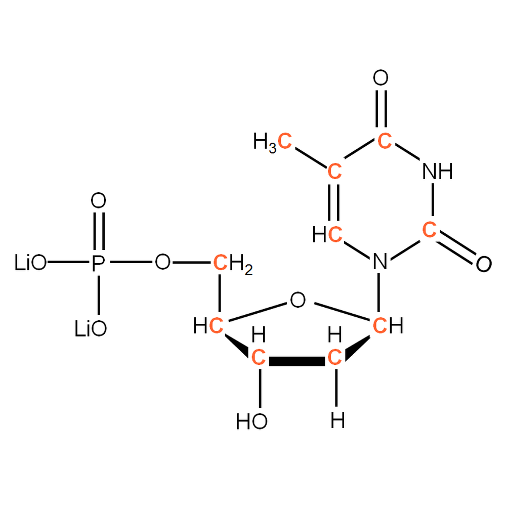 13C-labelled dTMP