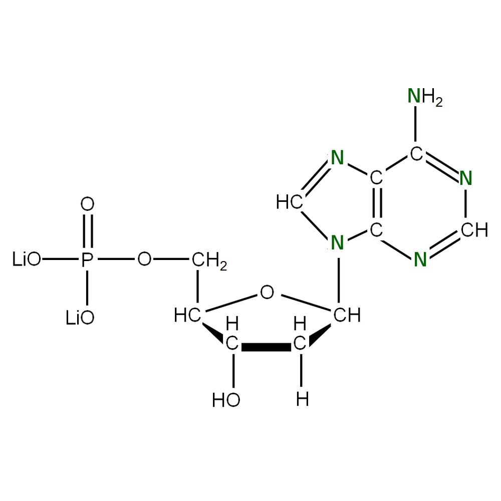 15N-labelled dAMP
