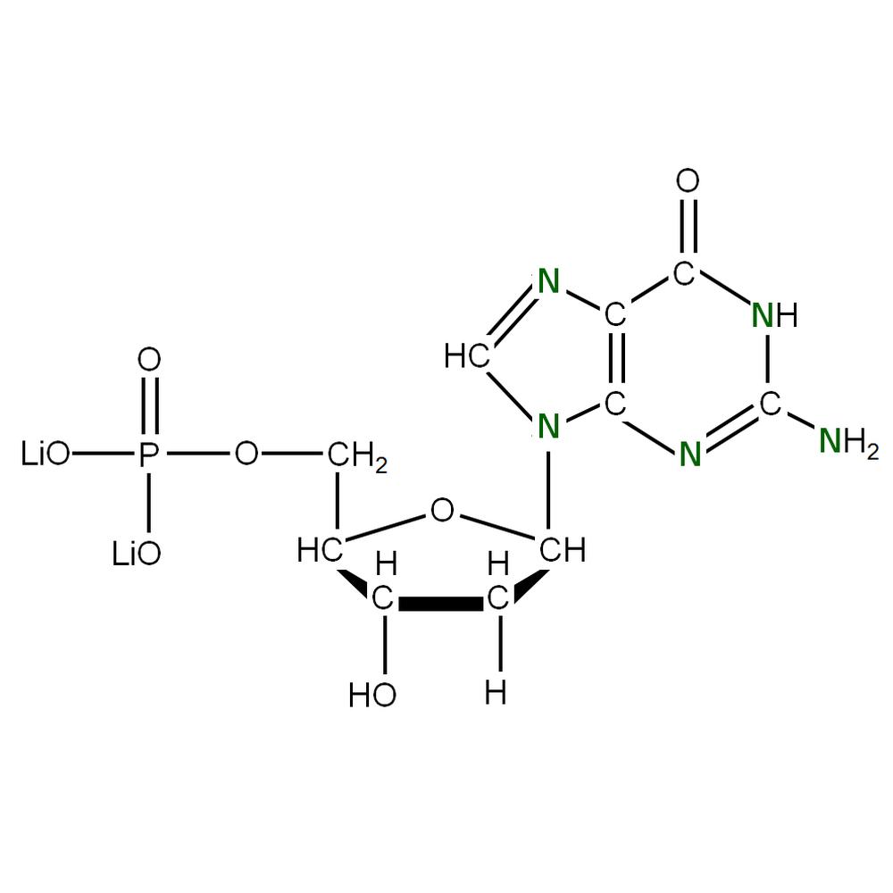 15N-labelled dGMP