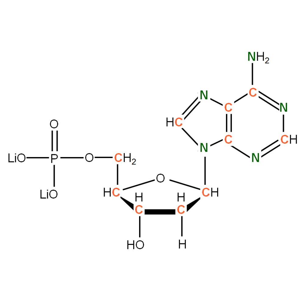 13C15N-labelled dAMP
