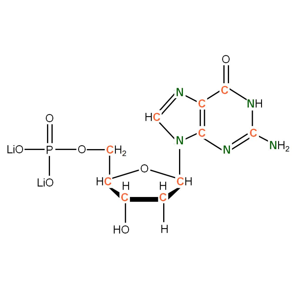 13C15N-labelled dGMP