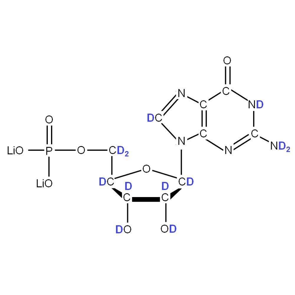 2H-labelled rGMP