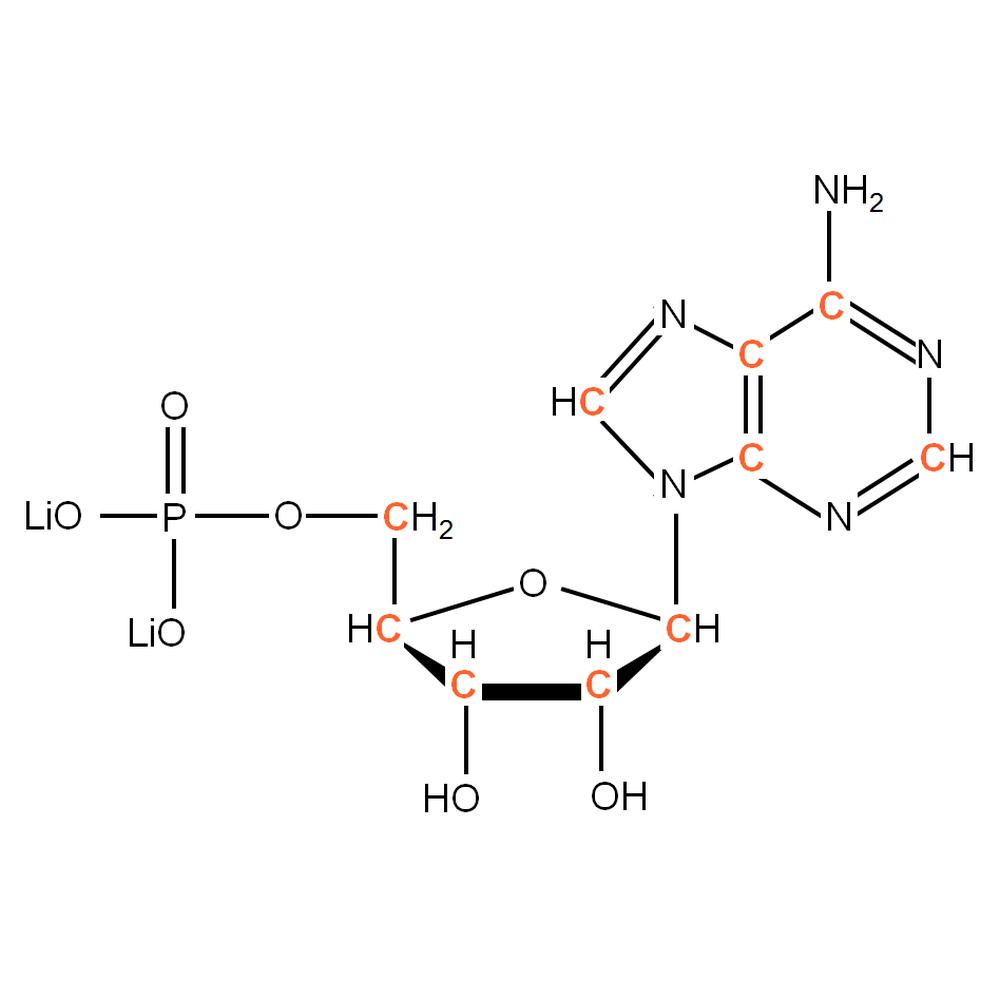 13C-labelled rAMP