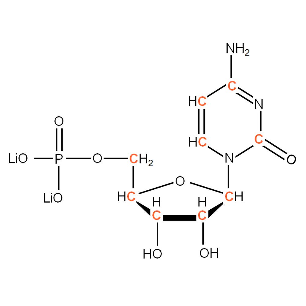 13C-labelled rCMP