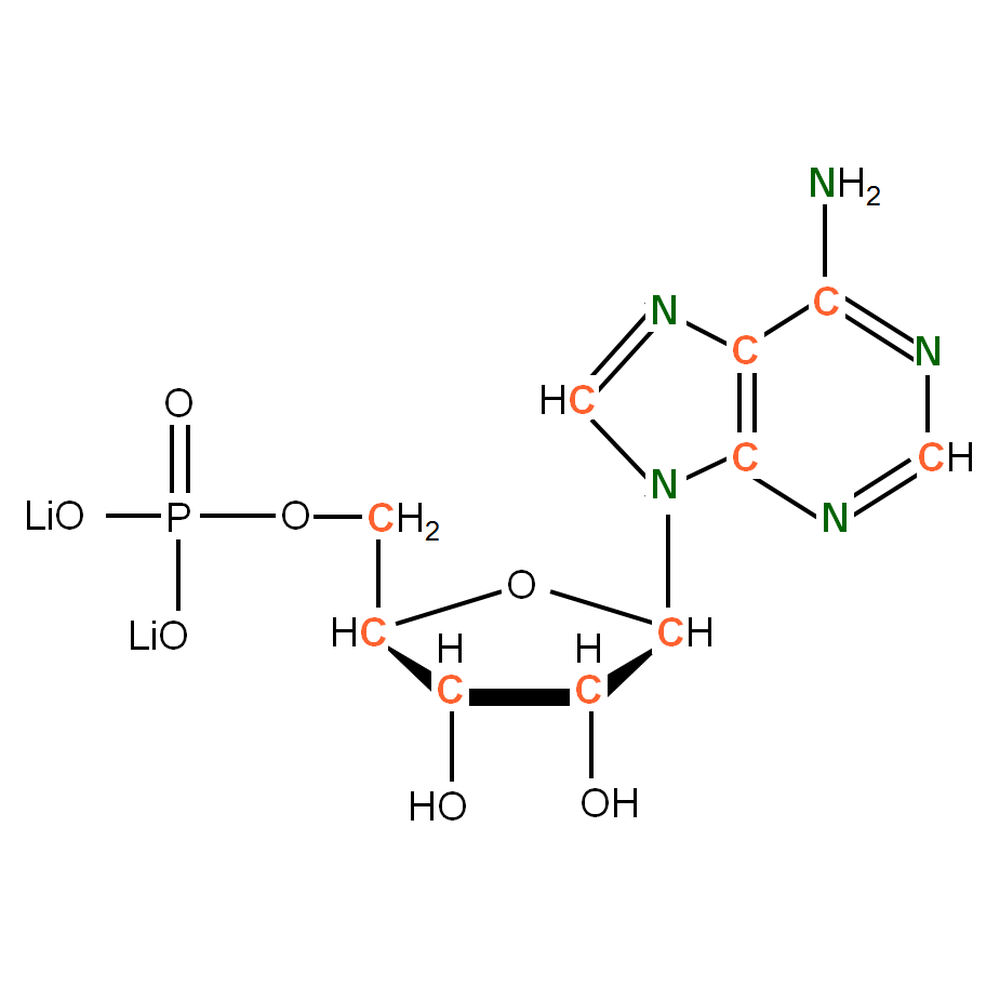 13C15N-labelled rAMP