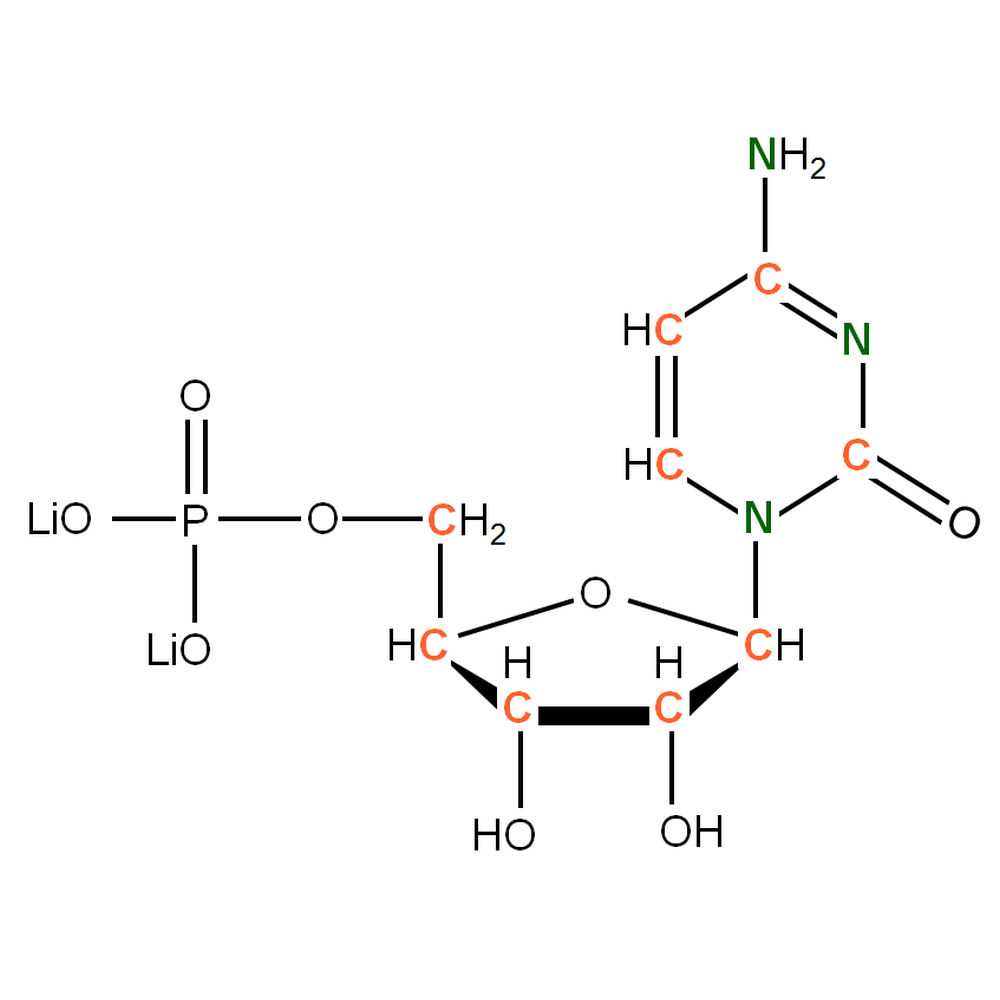 13C15N-labelled rCMP
