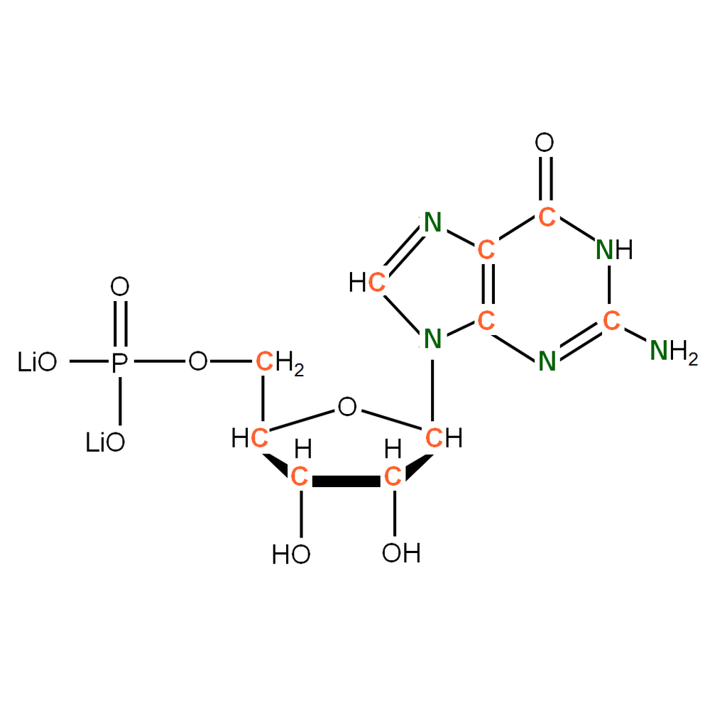 13C15N-labelled rGMP