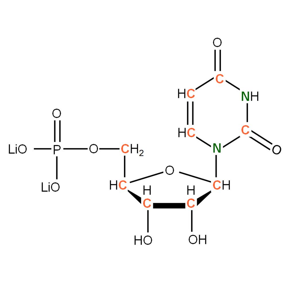 13C15N-labelled rUMP