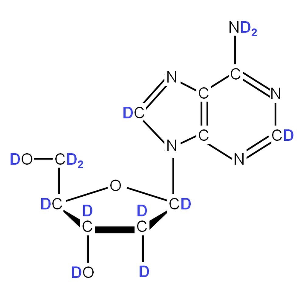 2H-labelled dA