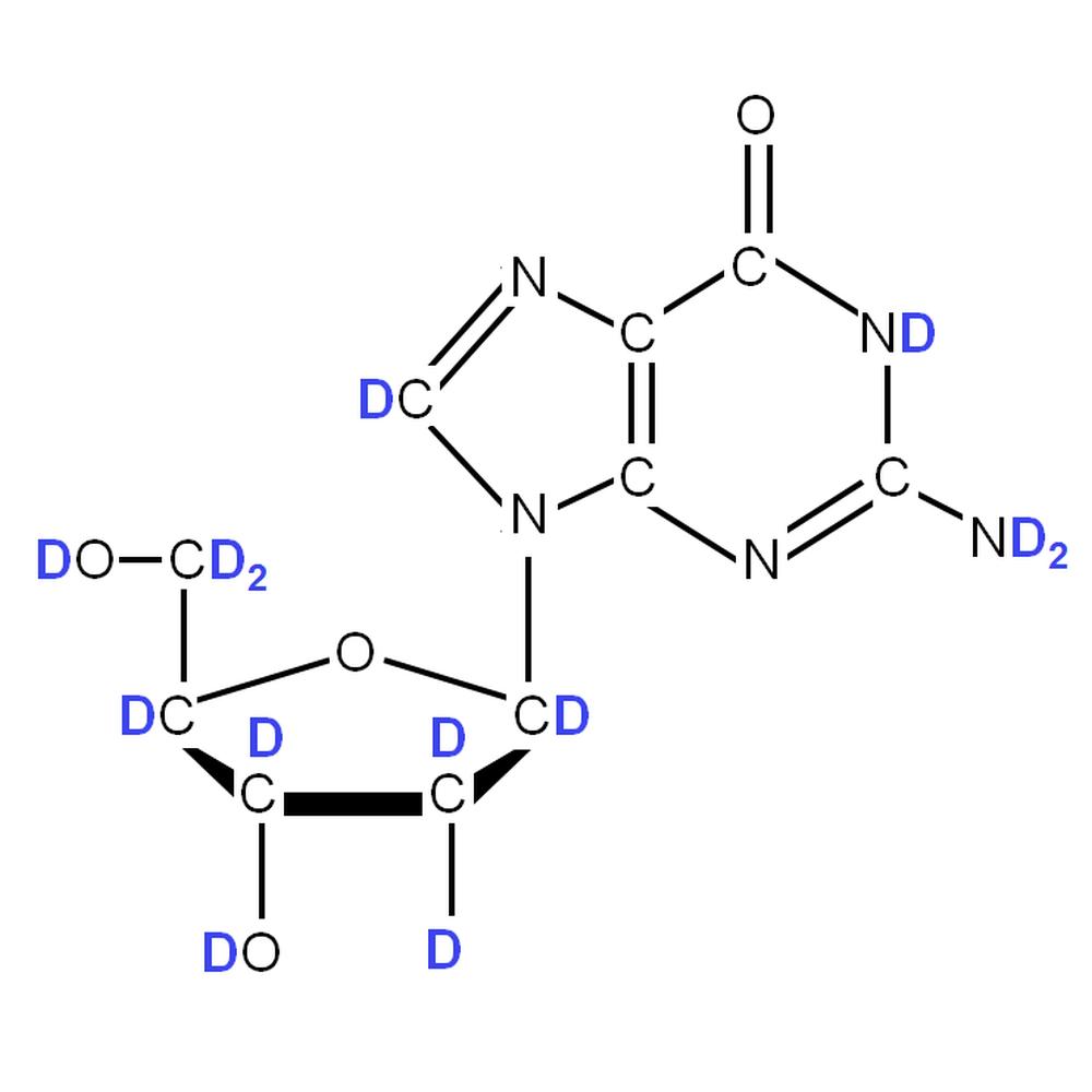 2H-labelled dG