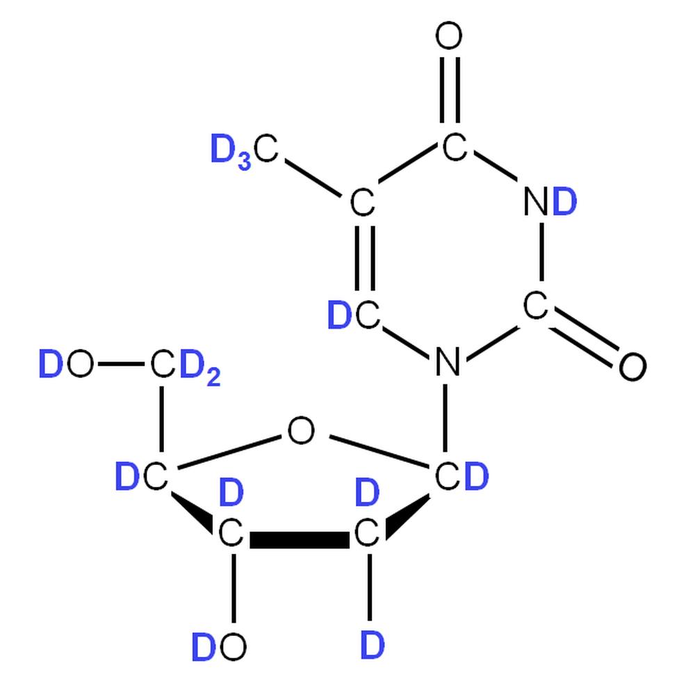2H-labelled dT