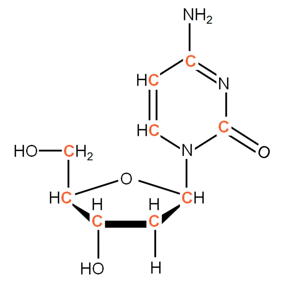 13C-labelled dC