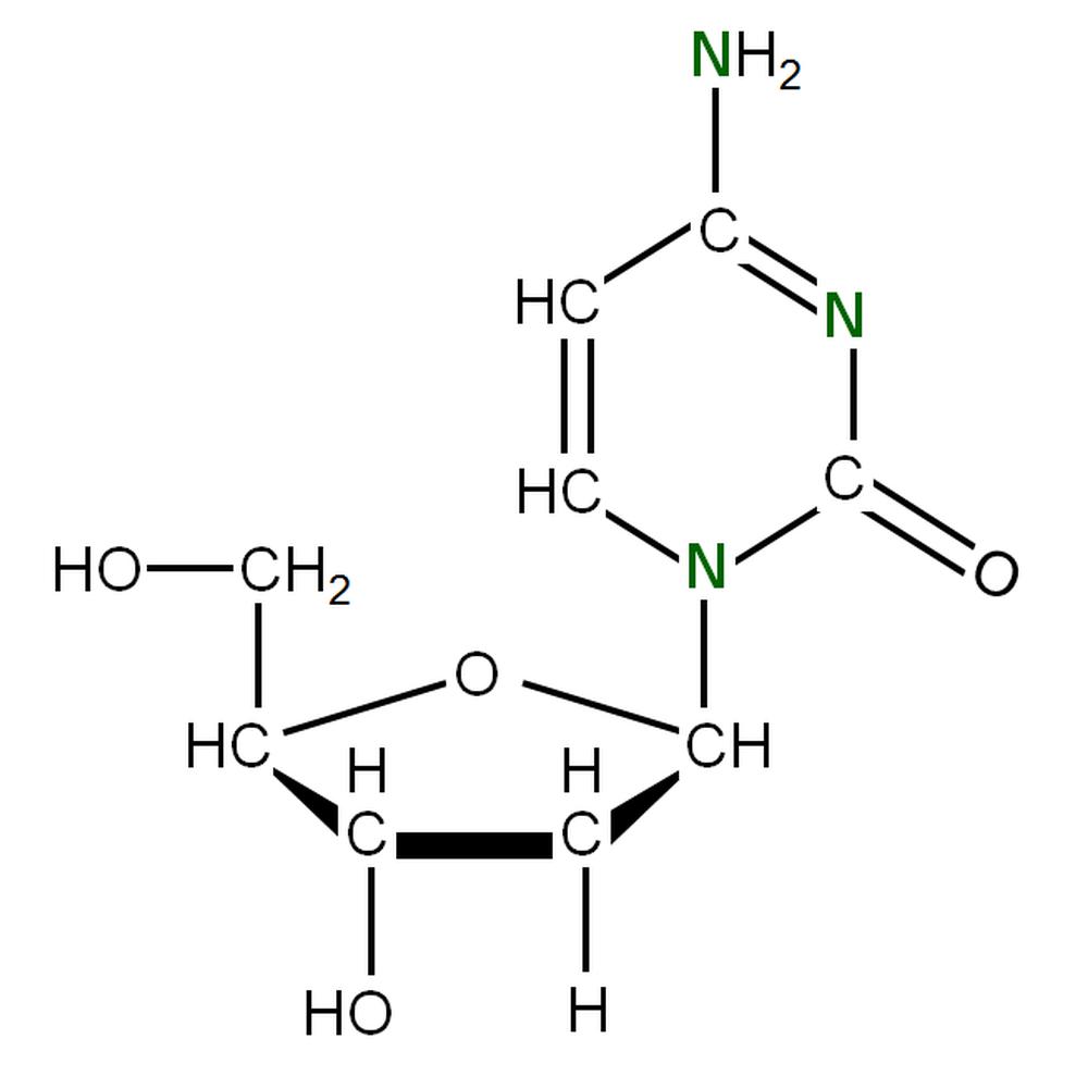 15N-labelled dC