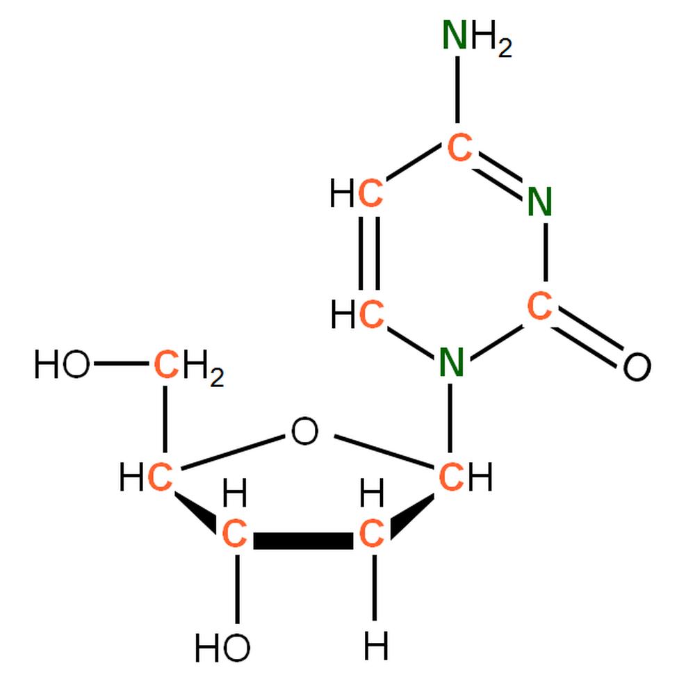 13C15N-labelled dC
