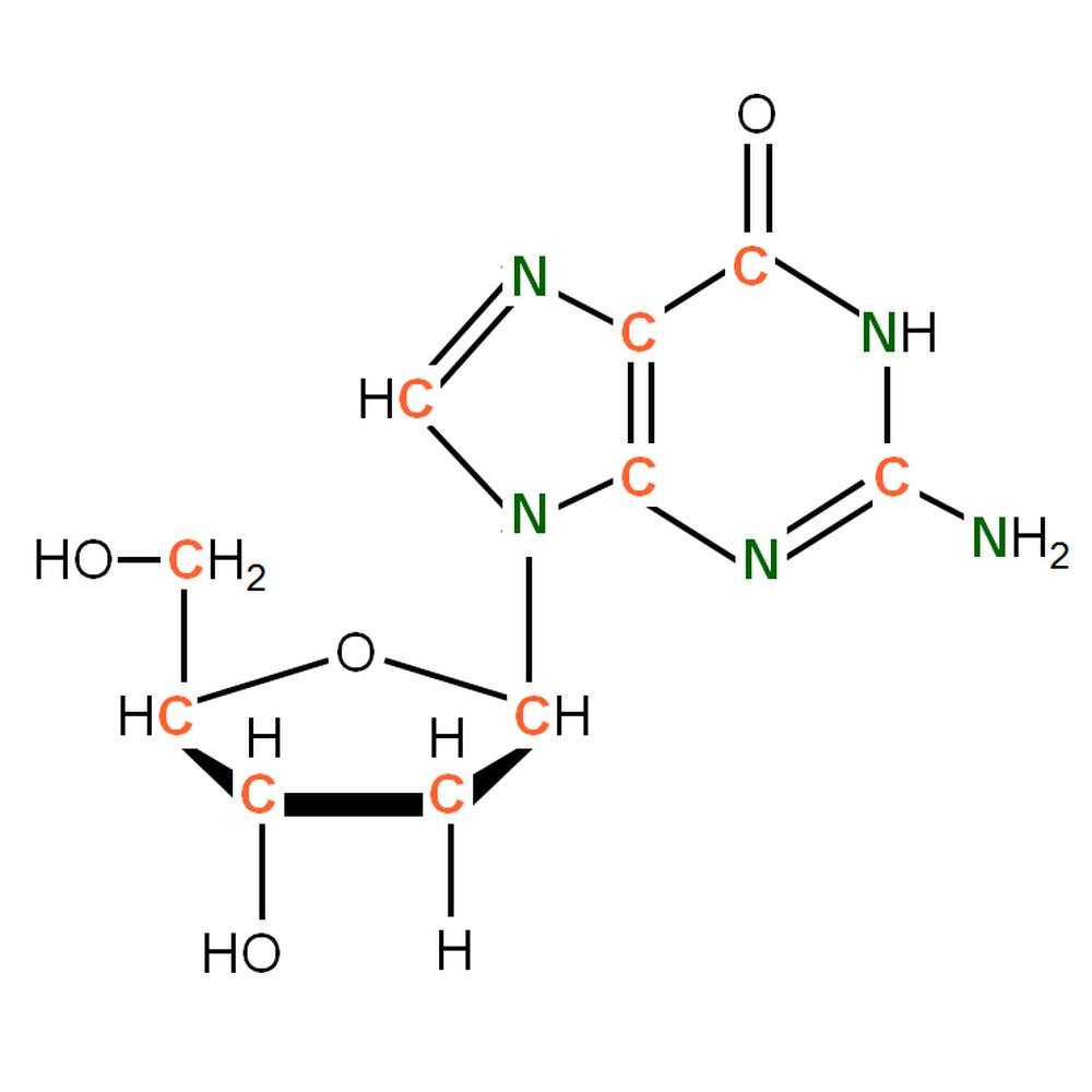 13C15N-labelled dG