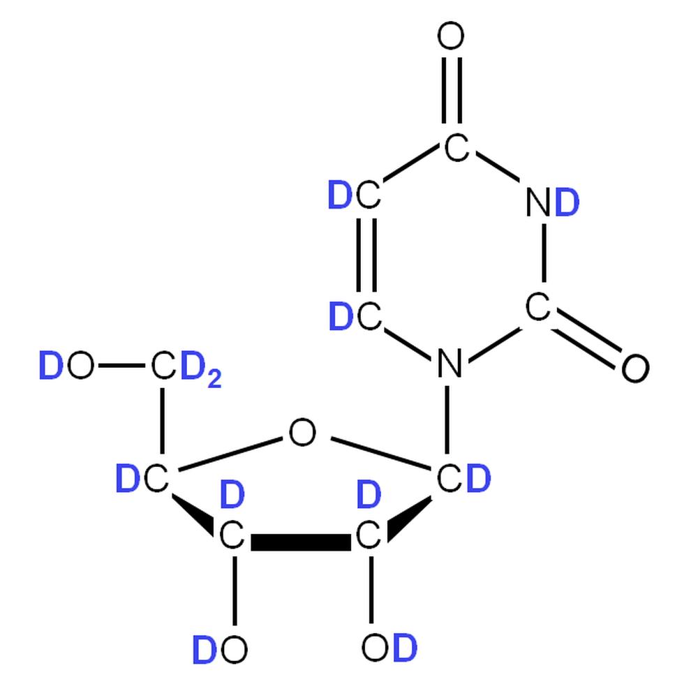 2H-labelled rU