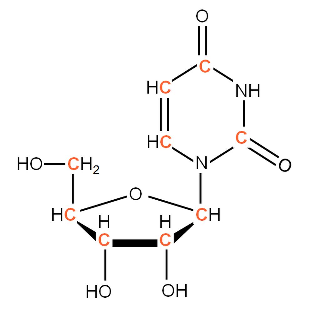 13C-labelled rU
