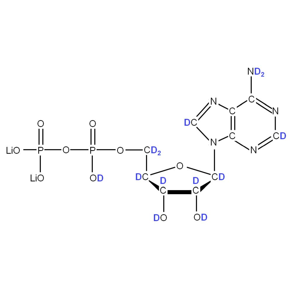 2H-labelled rADP