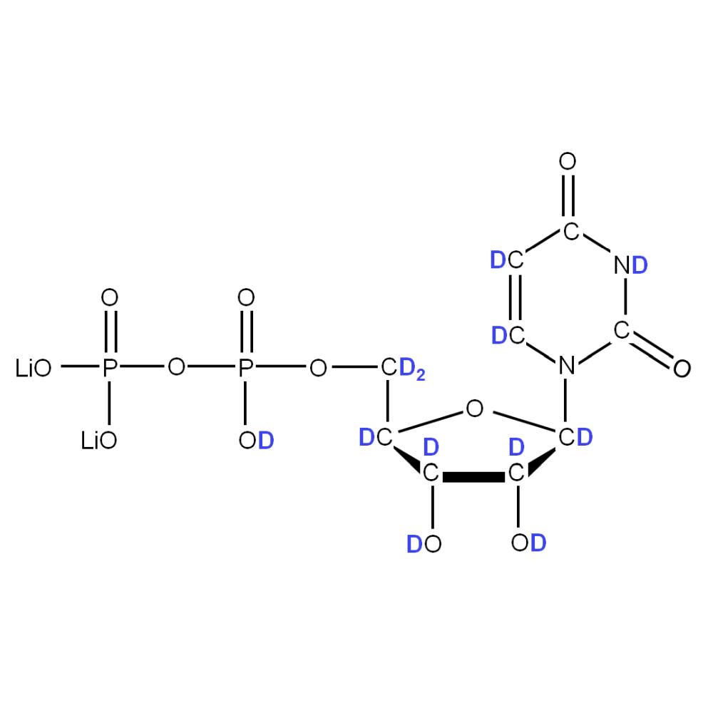 2H-labelled rUDP