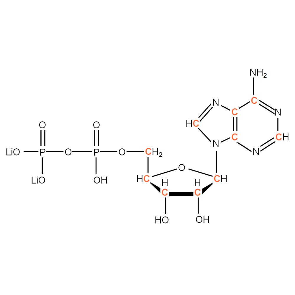13C-labelled rADP