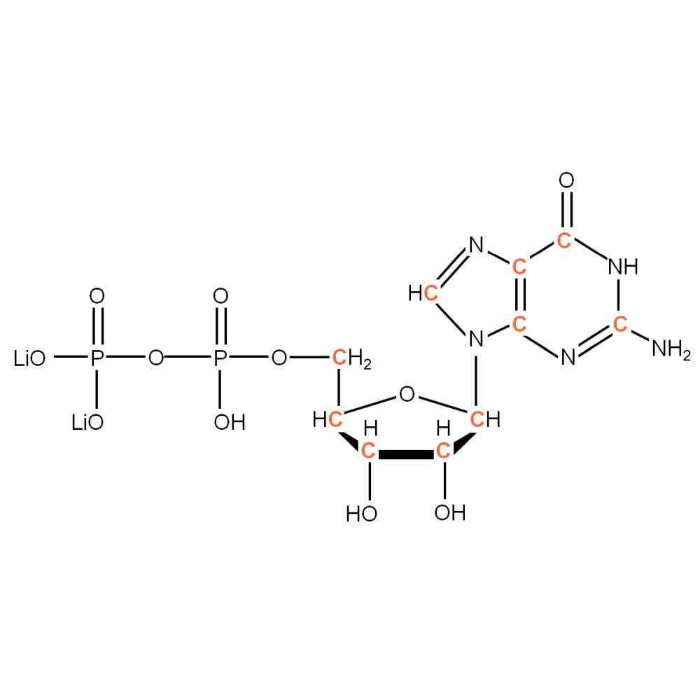 13C-labelled rGDP
