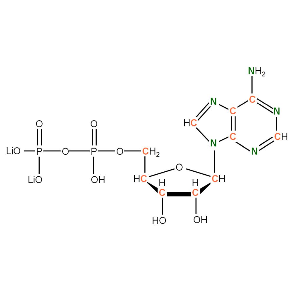 13C15N-labelled rADP