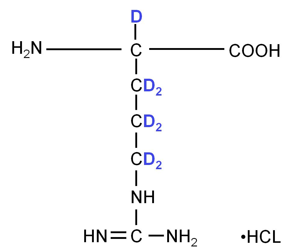 2H L-Arginine hydrochloride  powder