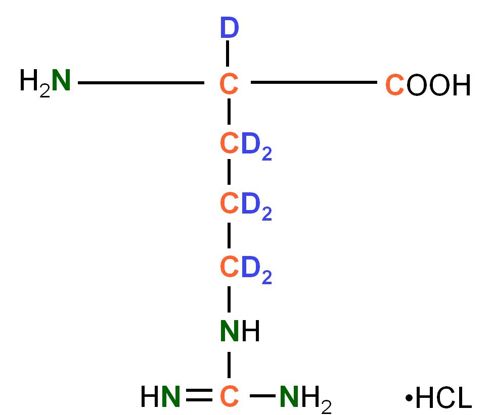 2H13C15N-labelled L- Arginine  HCl