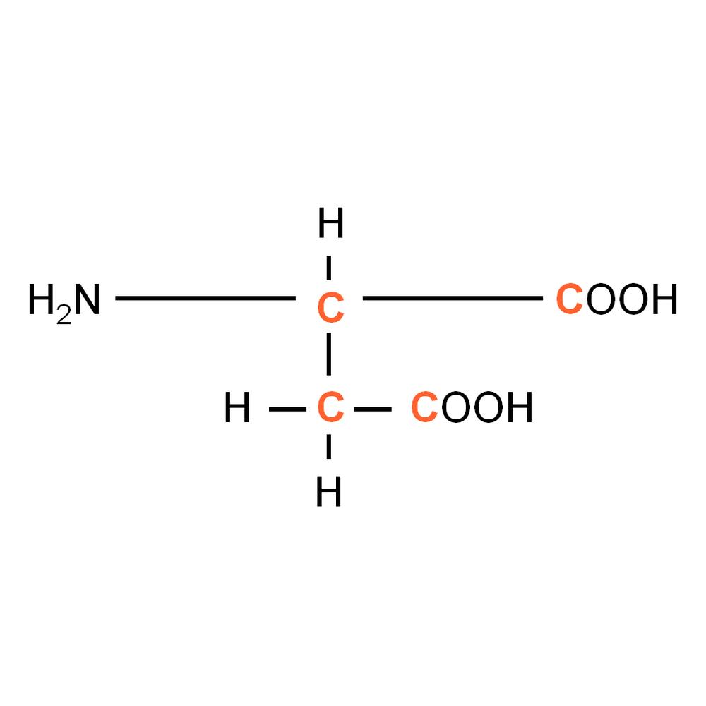 13C L-Aspartic acid powder