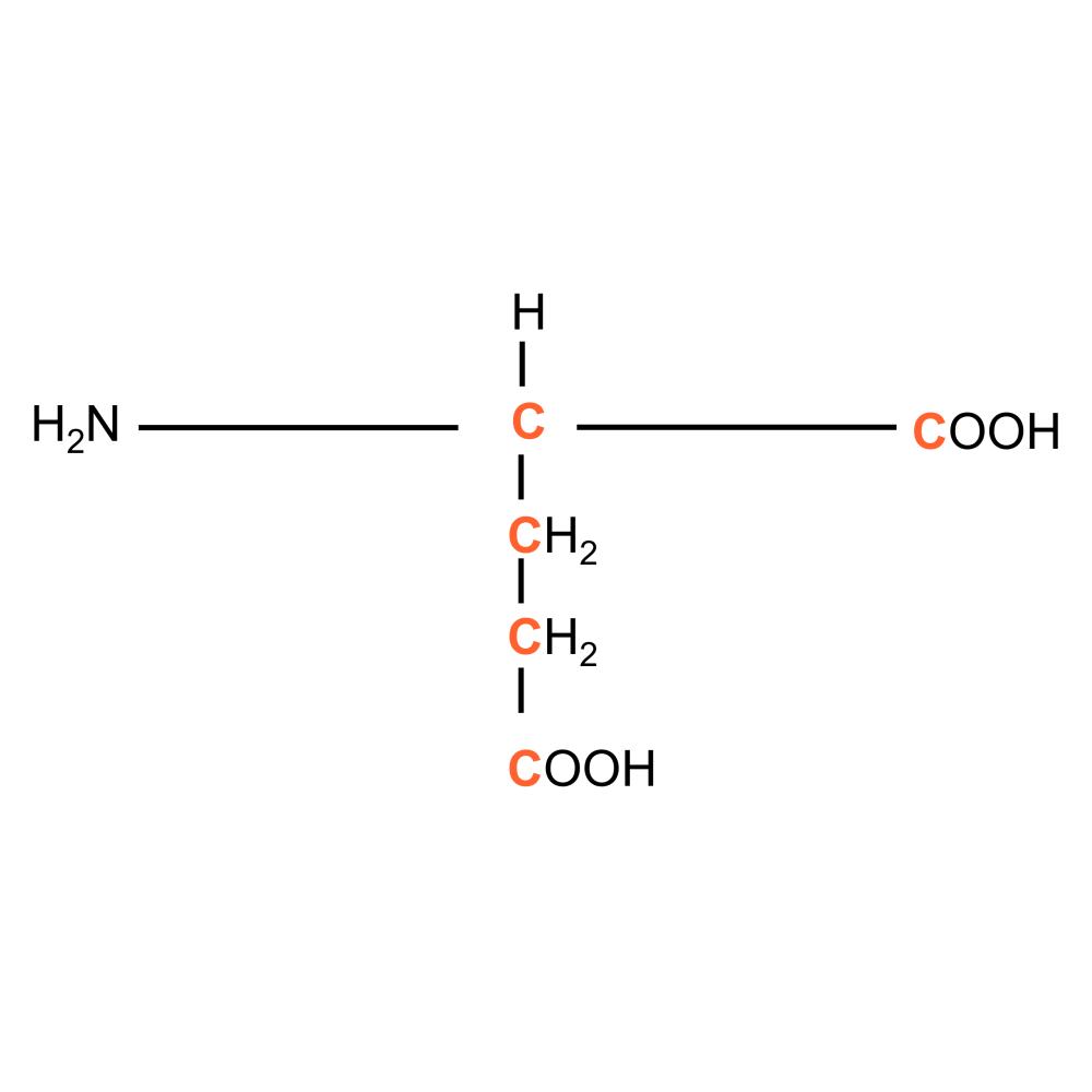 13C L-Glutamic acid powder