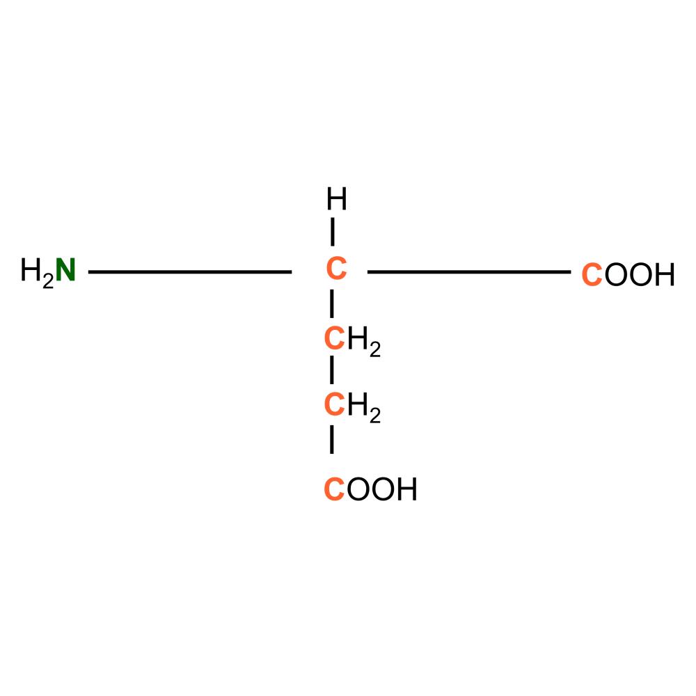 13C15N L-Glutamic acid powder