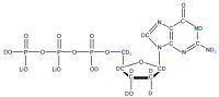2H 15N Deoxyguanosine 5'- triphosphate lithium salt  solution