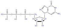2H Guanosine 5'-triphosphate  lithium salt solution