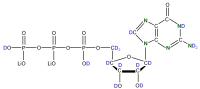 2H 15N Guanosine 5'- triphosphate lithium salt  solution