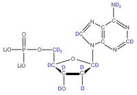 2H Deoxyadenosine 5'- monophosphate
